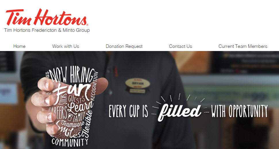 Tim Hortons Fredericton & Minto Group
